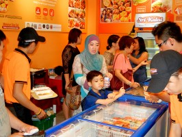 City Mall Launching KFI Sri Kulai Kinabalu FOod Industries outlet events photo (3)