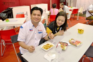 PH Expo Sandakan Photos KFI Sri Kulai Kinabalu Food industries malaysia ready to eat meals in minutes no cooking microwavable (12)