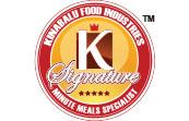 K signature logo sri kulai kinabalu food industries rte meals minutes meals satation