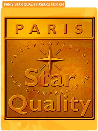Paris international star or leadership in quality award kfi Sri kulai Kinabalu food industries pencapaian kepimpinan malaysia