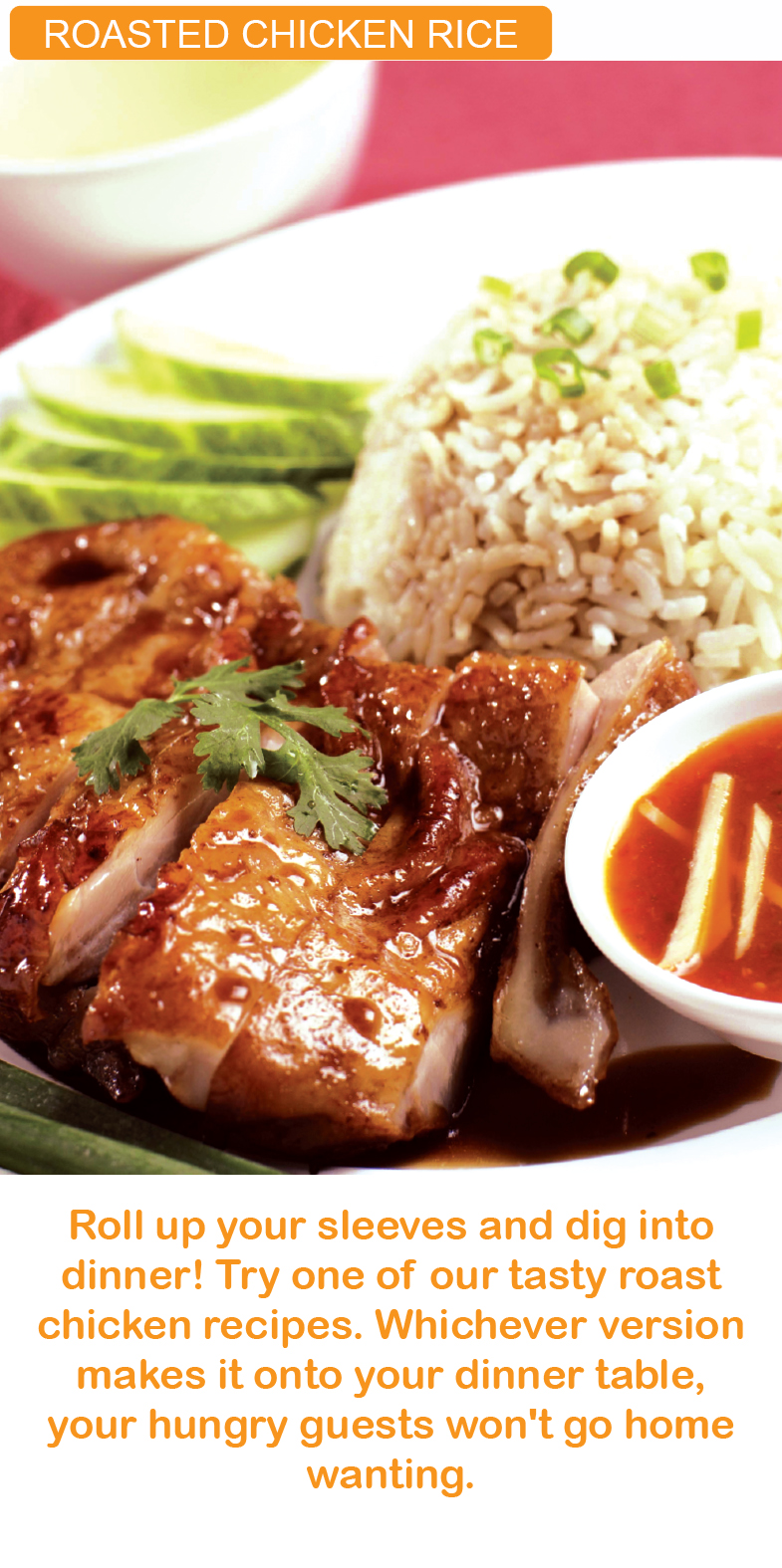 ROASTED CHICKEN RICE kfi sri kulai kinabalu food industries signature products malaysia  microwavable in minutes MEALS
