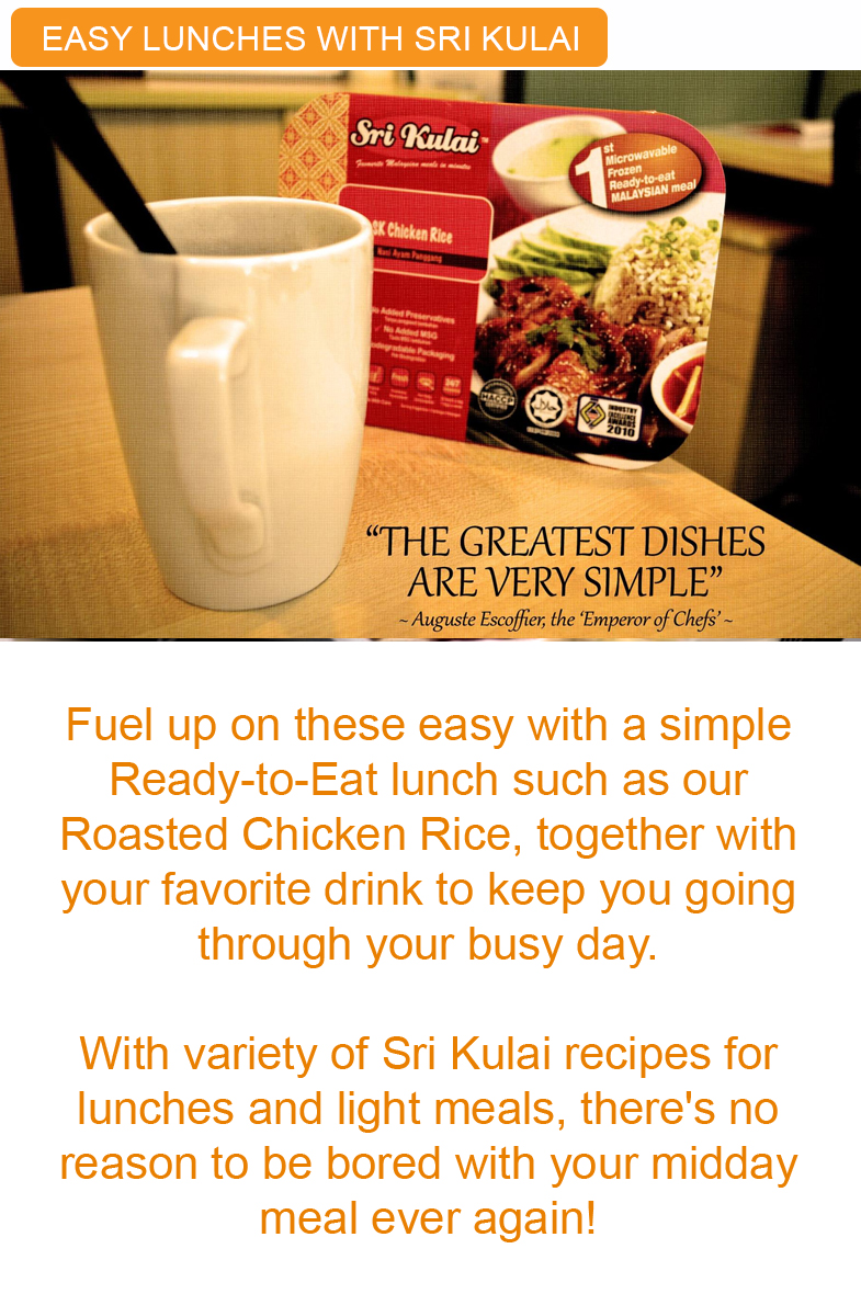 easy lunches with sri kulai complete meals kinabalu food industries malaysia tips