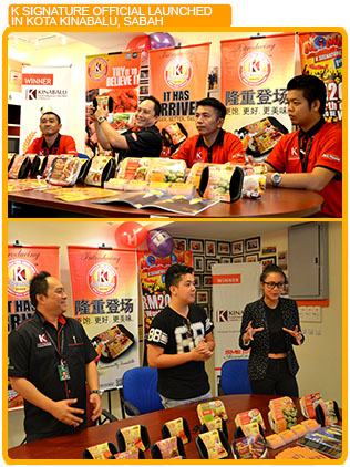 K signature official launched in kota kinabalu