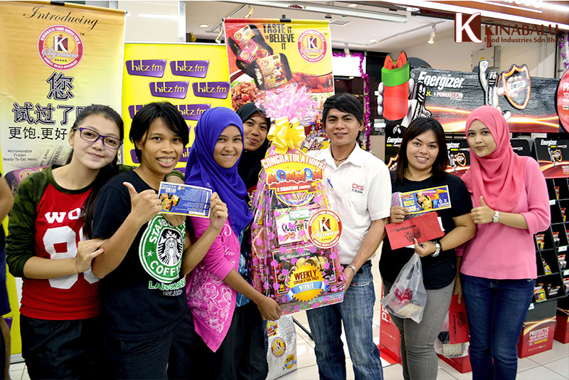 mommom k signature contest hitzfm era my astro fm winner prize rte meals kinabalu food industries 1